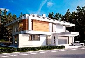 Предпочитаемые стили архитектуры в проектах харьковских коттеджей