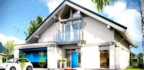 Особенности реализации проектов домов с гаражом под одной крышей в Харькове