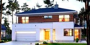 Как красиво построить дом: обустройство коробки дома