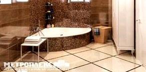 Варианты отделки в дизайне ванной комнаты в современном стиле