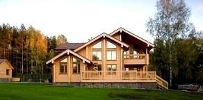 Как построить красивый дом из бруса