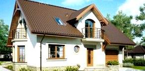 Подбираем размер мансардных окон в проектах домов с мансардой