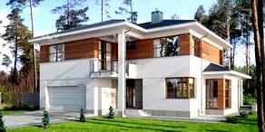 Безрамное остекление балкона в проекте домов и коттеджей